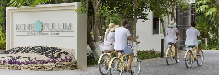 BICICLETAS GRATIS Hotel Kore Tulum Retreat and SPA Resort Tulum
