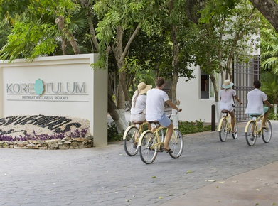 BICICLETAS GRATIS Hotel Kore Tulum Retreat and SPA Resort